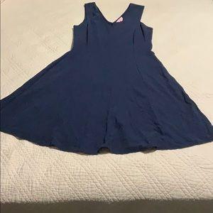 Lilly Pulitzer navy Dahlia dress.